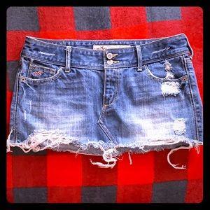 Hollister Mini Jean Shirt size 1